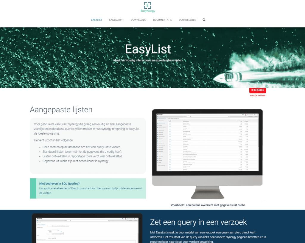 homepage easynergy