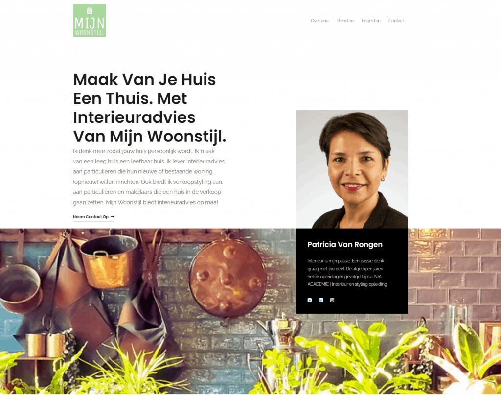 homepage mijnwoonstijl